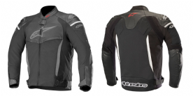 Alpinestars SP-X Leather Jacket Black
